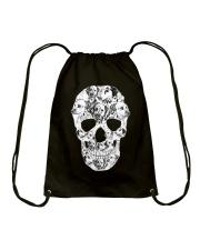 Dalmatian Skull Drawstring Bag thumbnail