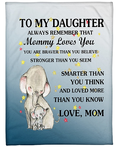 Elephant Mom - To My Daughter