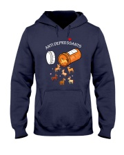 Horse Anti Depressants Hooded Sweatshirt thumbnail