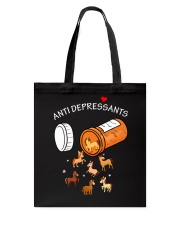 Horse Anti Depressants Tote Bag thumbnail