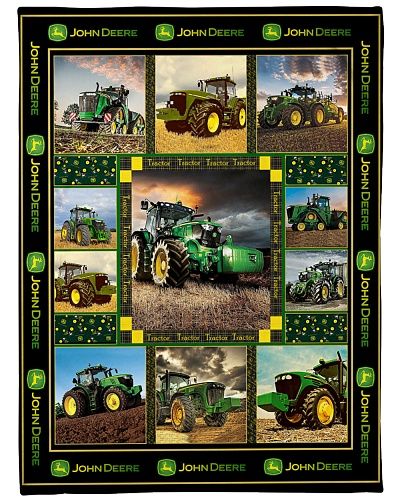 Tractor Funny Blanket JD Graphic Design