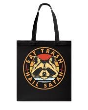 Raccoon Eat Trash Hail Satan Tote Bag thumbnail