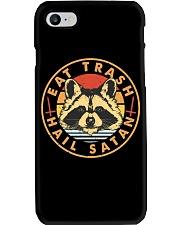 Raccoon Eat Trash Hail Satan Phone Case thumbnail