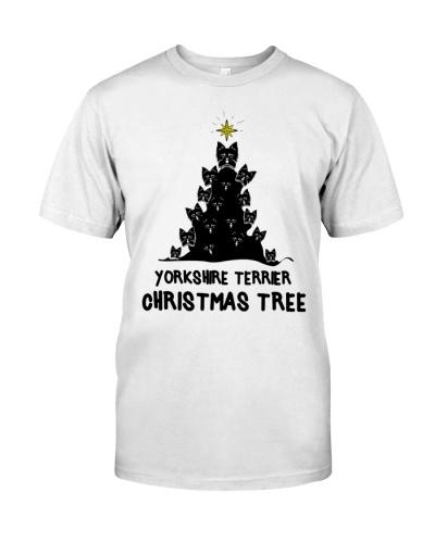 Yorkshire Terrier Xmas Tree
