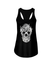 Goat Skull Ladies Flowy Tank thumbnail
