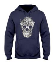 Goat Skull Hooded Sweatshirt thumbnail