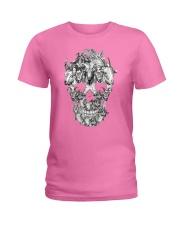 Goat Skull Ladies T-Shirt thumbnail