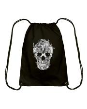 Goat Skull Drawstring Bag thumbnail