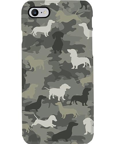 Dachshund Camouflage Phonecase