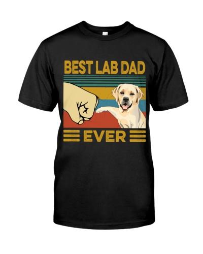 Best Lab Dad Vintage