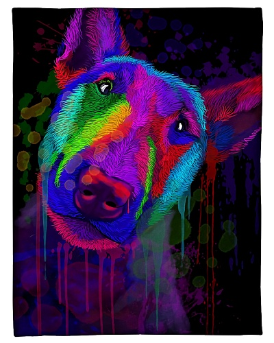 Bull Terrier Funny Blanket Beauty Graphic Design