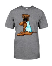Boxer I Love Mom Classic T-Shirt front