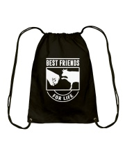COW- Best Friends For Life Drawstring Bag thumbnail
