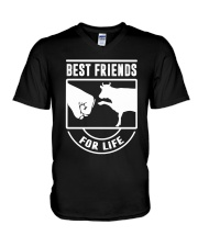 COW- Best Friends For Life V-Neck T-Shirt thumbnail