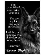 German Shepherd I Am Your Friend Poster 11x17 Poster front