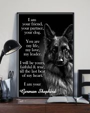 German Shepherd I Am Your Friend Poster 11x17 Poster lifestyle-poster-2