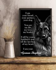 German Shepherd I Am Your Friend Poster 11x17 Poster lifestyle-poster-3