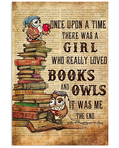 Owl Once Upon A Time Poster