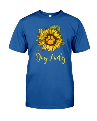 Dog Lady Flower