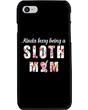 Sloth Mom Phone Case tile