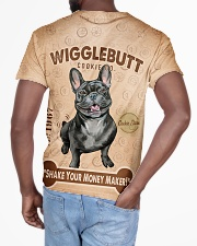 French Bulldog Wigglebutt All-over T-Shirt aos-all-over-T-shirt-lifestyle-back-03