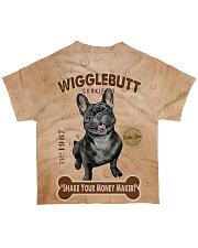 French Bulldog Wigglebutt All-over T-Shirt back
