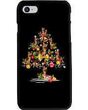 German Shepherd Christmas Tree Phone Case thumbnail