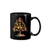 German Shepherd Christmas Tree Mug thumbnail