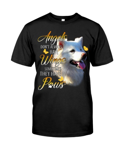 Samoyed Angels Don't Always Have Wings