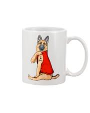 German Shepherd Red I Love Dad Mug thumbnail