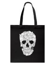 Cat Skull Tote Bag thumbnail