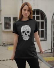 Cat Skull Classic T-Shirt apparel-classic-tshirt-lifestyle-19