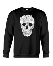 Cat Skull Crewneck Sweatshirt thumbnail