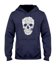 Cat Skull Hooded Sweatshirt thumbnail