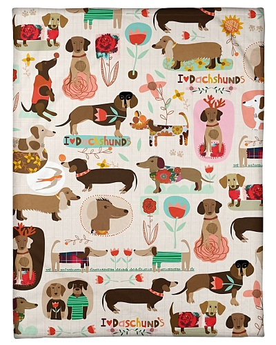 Dachshund Funny Pattern Graphic Design