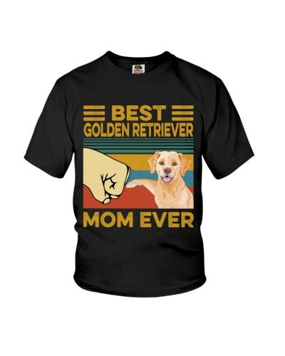 Best Golden Retriever Mom Vintage