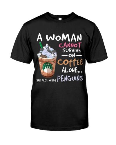 Penguins A Woman Cannot Survive