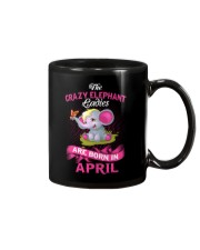 Elephant Ladies Are Born In  April Mug thumbnail