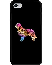 Life is better with Golden Retriever around Phone Case thumbnail