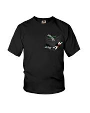 Dragonfly In Pocket Youth T-Shirt thumbnail