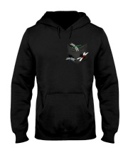 Dragonfly In Pocket Hooded Sweatshirt front