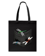 Dragonfly In Pocket Tote Bag thumbnail
