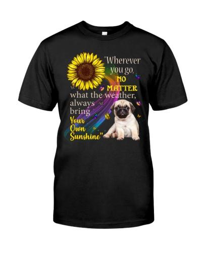 Pug Wherever You Go
