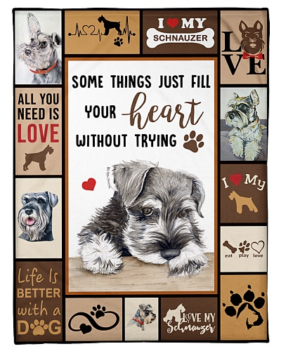Schnauzer Funny All You Need Graphic Design