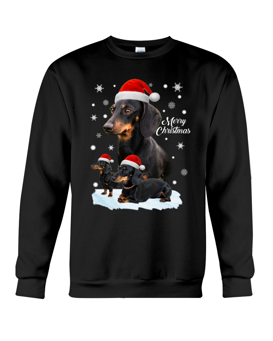 Dachshund Christmas Crewneck Sweatshirt
