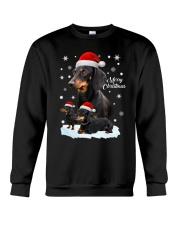 Dachshund Christmas Crewneck Sweatshirt front