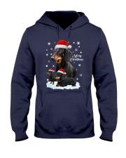 Dachshund Christmas Hooded Sweatshirt thumbnail