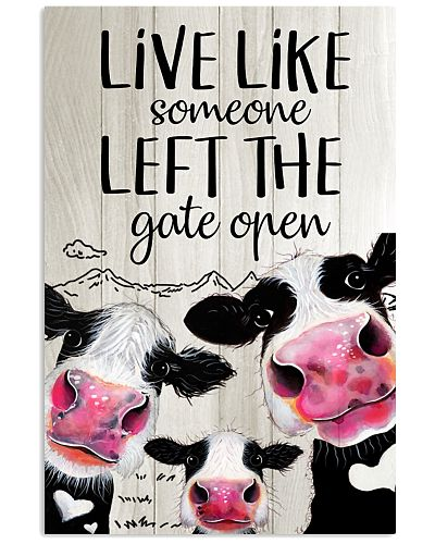 Cow Live Like Some One