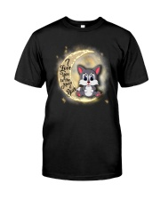 Wolf anh the moon Classic T-Shirt front