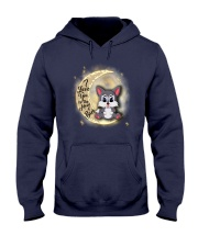 Wolf anh the moon Hooded Sweatshirt thumbnail